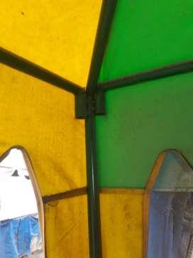 Di jual tenda bekas baru pakek 7bulan ukuran 2x2