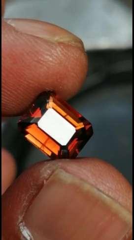 Natural chrisoberyl color honey orange 2,9 crt