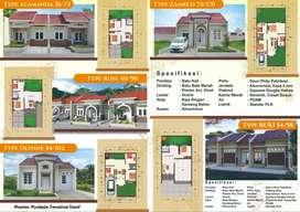 Rumah kios di daerah padat penduduk