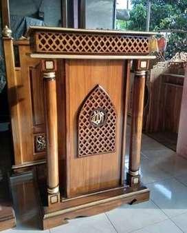mimbar masjid minimallis bgs