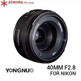 Yungnuo 40mm f2.8 for nikon