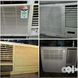 Window Ac all tons available