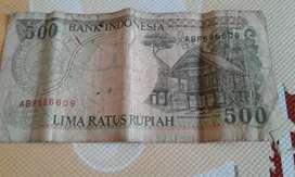 uang 500 rupiah thn 1992 ( 28 tahun )
