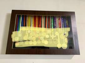 Medal display shelf x 2 ( no medals, only display box)