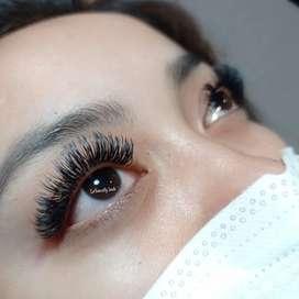 Double eyelashes
