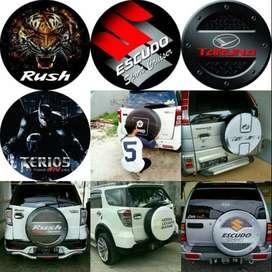 Sarung Ban Serep RocKY Toyota Rush/Terios Awet Cover Ban Katana Tebal