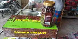 Bonibol coklat dan 3 rasa dlm 1 toples