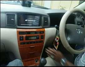 Head unit doubledin 7inc FOR Toyota ALTIS (UDIN AUDIO)