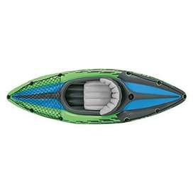 Intex Challenger K1 Kayak, 1-Person Inflatable Kayak Set with Aluminum