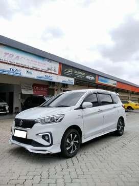 Suzuki Ertiga Sport GT A/T Thn 2019 Putih Kilometer 11.000