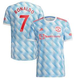 Manchester United Away Shirt 2021-22 with Ronaldo 7 printing