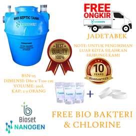 bio septic tank sepiteng moderen dan ramah lingkungan