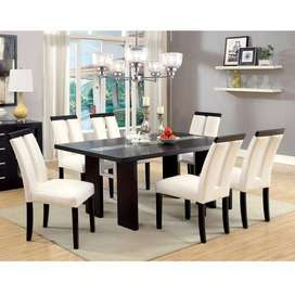 Amazing Dining table set with cushion Chairs HEAVY QUALITY
