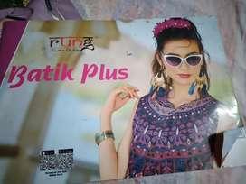 Batik plus kurti