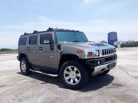 Hummer H2 Liberty 6.2L 2010 NIK 2009  GREY On Black  Km 8rb Asli Antik