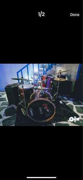 Drumset on RENTBasis/ All instruments in rent