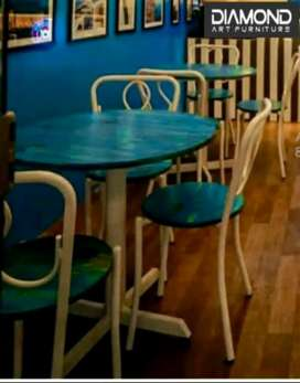 NEW CAFE HOTEL RESTAURANT TABLE CHAIRS ANTIQUE FURNITURE MANUFACTURER