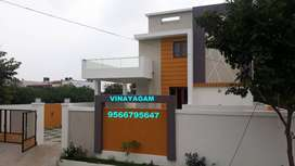 BUNGALOW with 3 CAR PARKING & BEAUTIFUL GARDEN for sale at VADAVALLI