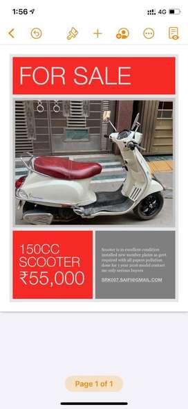 Vespa 150cc sxl