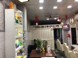 Glam studio running salon on sale with franchise