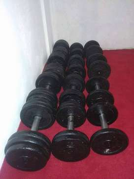 All gym equipment