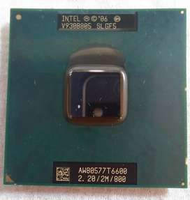 Processor Core 2 Duo For Laptop