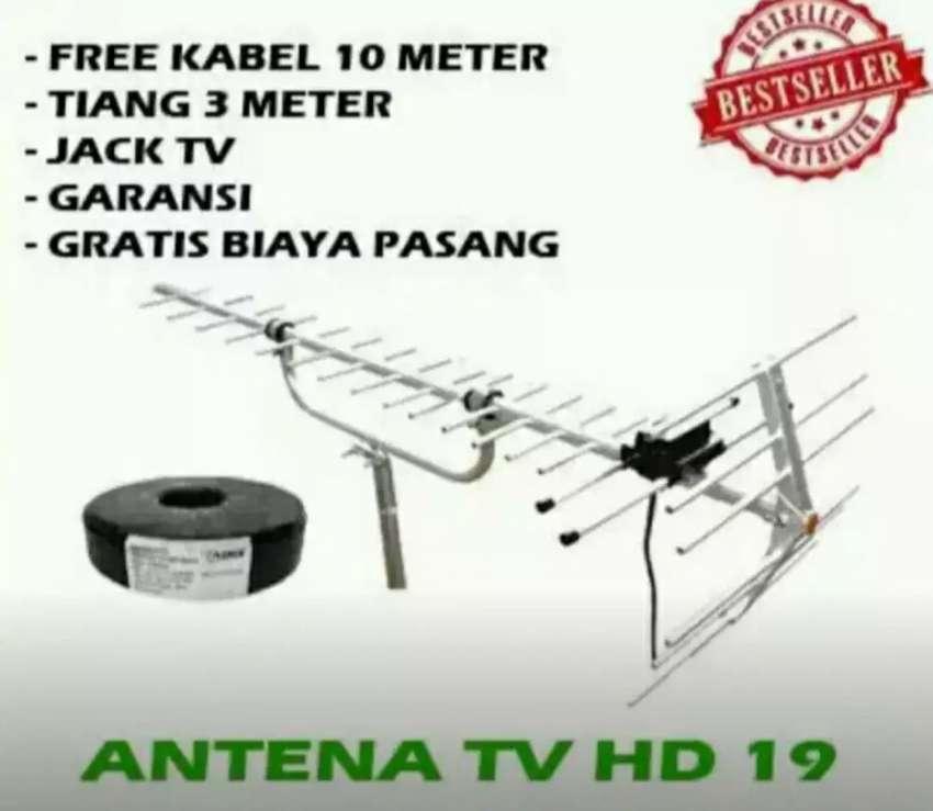Toko pemasangan sinyal antena tv murah terdekat tapos
