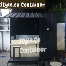 BOOTH SEMI CONTAINER | CONTAINER USAHA | CONTAINER RESTORAN