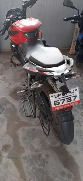 Pulsar ns 160(front part modified in Agra)