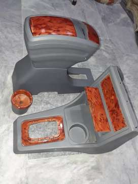 Mehran console and arm rest