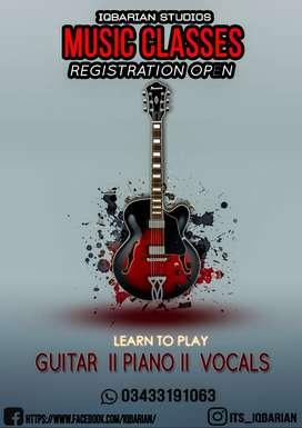 train your music playing and singing skills join today