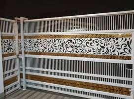Kami bengkel las nerimah pemasangan pagar kating laser $$1717
