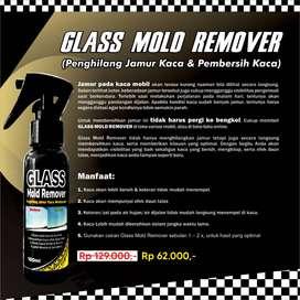 Bersihkan Rutin Kaca dg GLASS MOLD REMOVER Agar Terhindar JAMUR Kaca !