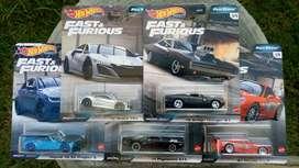 Hotwheels Fast Furious Full Force