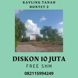 Dijual Tanah Kavling Buntet 2 Belakang SDN 1 Buntet Astanajapura