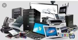 Computer, laptop, printer,toner(carterig) CCTV camera ripering