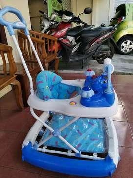 Baby walker preloved baru pakai