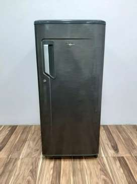 Whirlpool grey color 195 liters 5star rating single door refrigerator