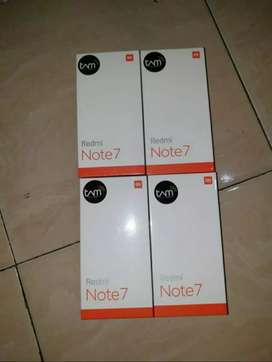 Redmi note 7 new garansi resmi 4/64 cod