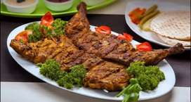 I need experienced Arabic cook and Chinese chef