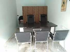 A furnished office for rent