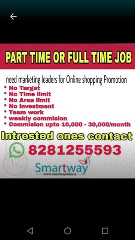 Full time or part time if u interested contact me