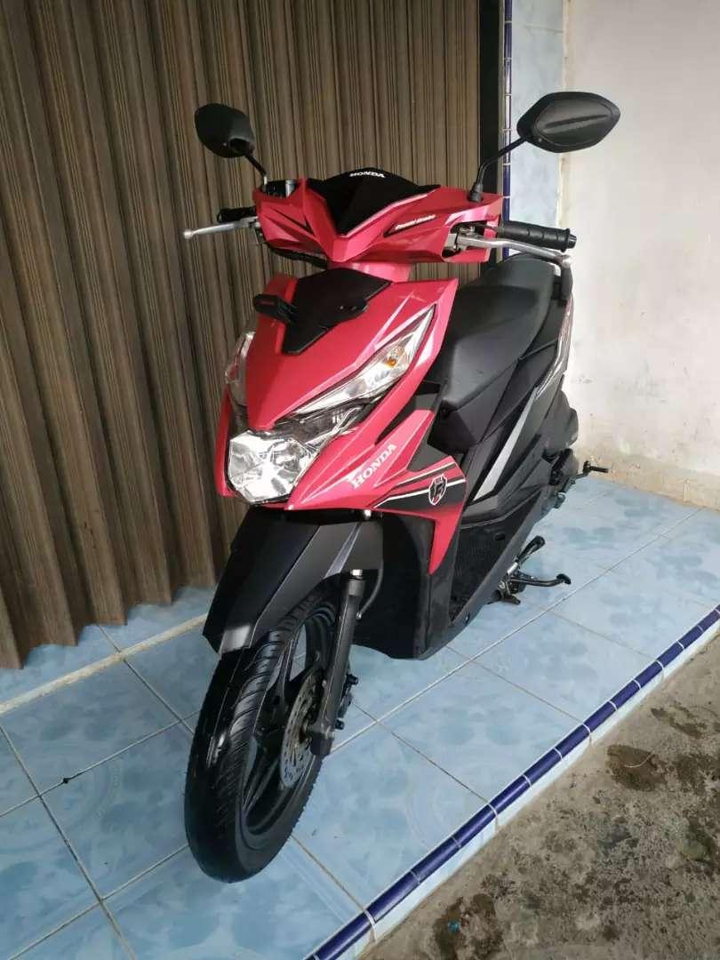 KM 6000. New Honda Beat CBS 2019 RASA BARU. BA Padang Kota 0