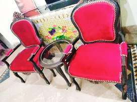 Two Bedroom chair  with cofy table