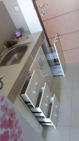 kitchen set/partisi