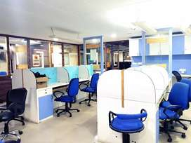 commercial Fully furnished office available on lease ready 2 move