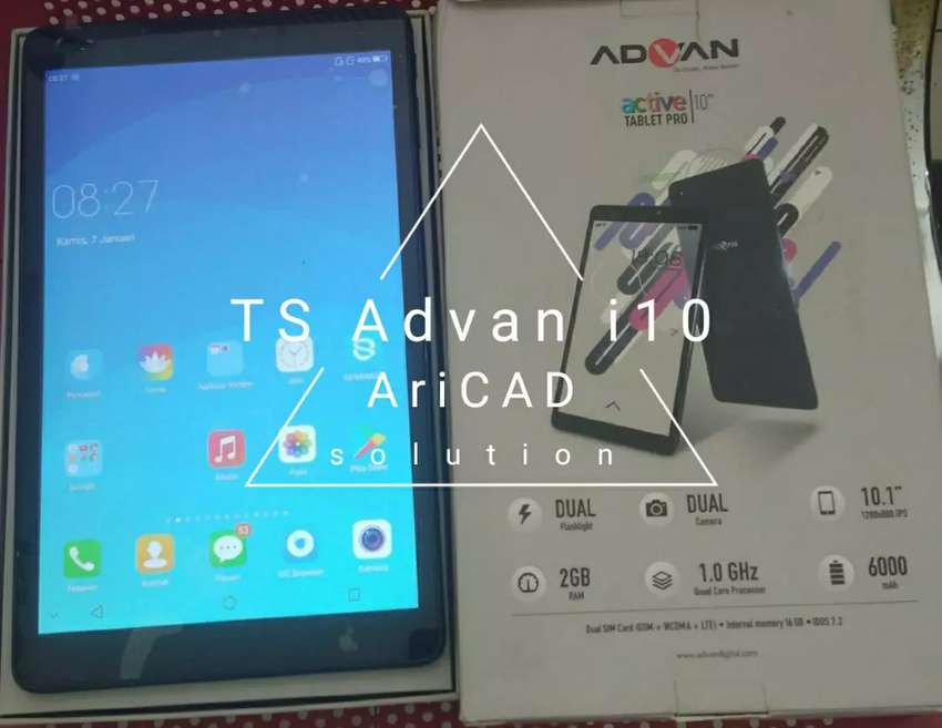 Repair Touch screen Advan i10 0