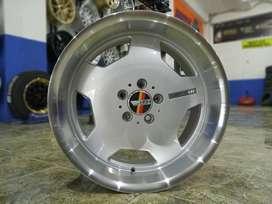 promo velg mobil merk hsr wheel  type->ROSTOCK EURO HSR R18X8-9