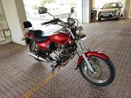 Bajaj Avenger 200CC Red color