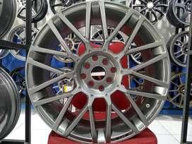 Velg Mobil Murah Mobilio, Livina REVENGE JD8119 HSR Wheel Ring 18 SMG